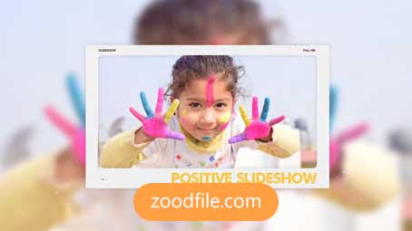 پروژه آماده پریمیر اسلایدشو Positive-Slideshow