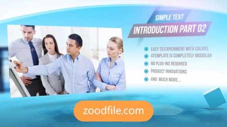 پروژه آماده افترافکت معرفی شرکت Company-Promotion