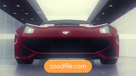 پروژه آماده افترافکت خودرو Car-Presentetion