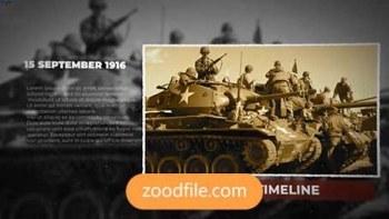 پروژه آماده افترافکت عکس History-Timeline