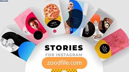 پروژه آماده پریمیر اینستاگرام Instagram-Story-Pack
