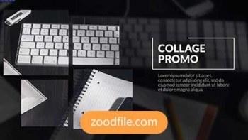 پروژه آماده افترافکت تبلیغاتی معرفی آموزشگاه Collage