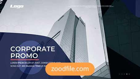 پروژه آماده پریمیر تیزر تبلیغاتی Corporate-Promo