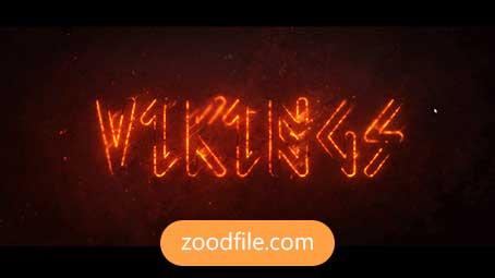 پروژه آماده افترافکت لوگو Fire-Logo