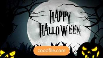 پروژه آماده افترافکت تیتراژ Halloween-Nightmare