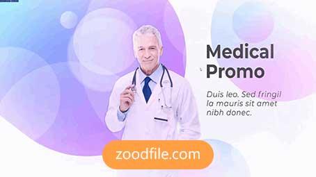 پروژه آماده افترافکت پزشکی Medical-Presention