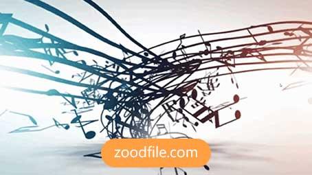 پروژه آماده افترافکت لوگو Musical-Logo