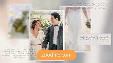 پروژه آماده پریمیر عروسی Wedding-Light