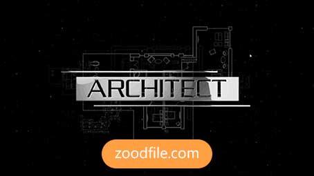 پروژه آماده افترافکت لوگو Architect-Logo
