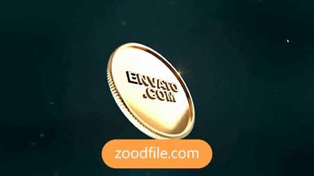 پروژه آماده افترافکت لوگو Coin-Logo