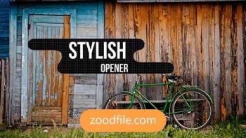 پروژه آماده افترافکت استارت Stylish-Opener