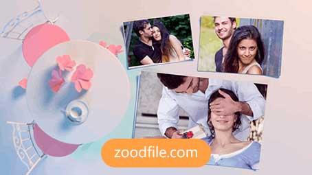 پروژه آماده افترافکت عروسی Viaggio-Romantic