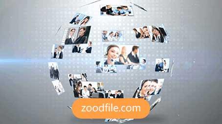 پروژه آماده افترافکت رایگان لوگو Business-Logo