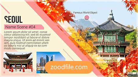 پروژه آماده افترافکت گردشگری Travel-Guide