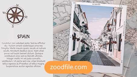 پروژه آماده پریمیر گردشگری Travel-Slideshow
