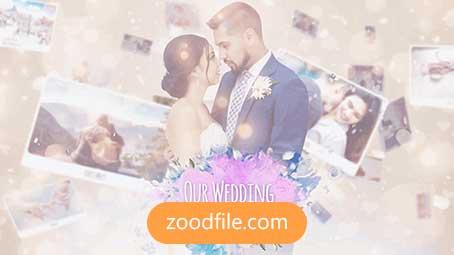 پروژه آماده افترافکت رایگان عروسی Photo-Wedding