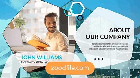 پروژه آماده افترافکت معرفی شرکت Corporate-Presentation