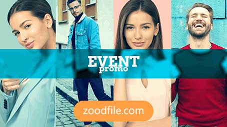 پروژه آماده پریمیر معرفی همایش Event-Promo