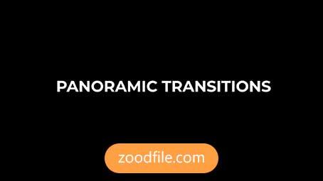 ترانزیشن پریمیر رایگان Panoramic-Transitions