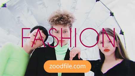 پروژه آماده افترافکت رایگان استارت Fashion